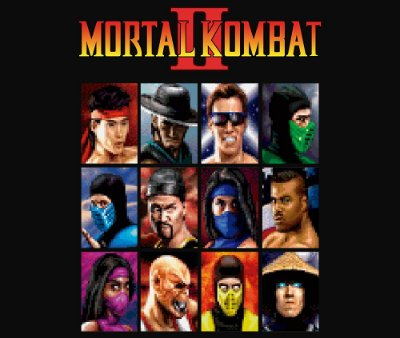 Enjoystick Mortal Kombat II - Select Screen