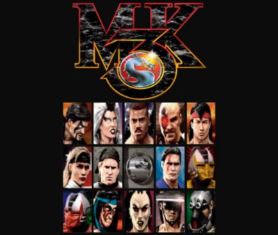 Enjoystick Mortal Kombat 3 - Select Screen