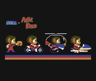 Enjoystick Alex Kidd Vehicles