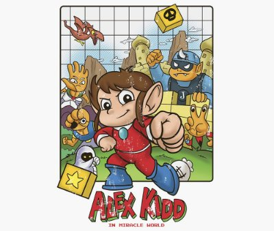 Enjoystick Alex Kidd Epic