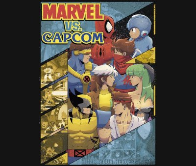 Enjoystick Marvel vs Capcom
