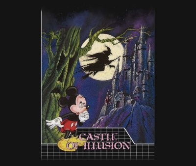 Enjoystick Mickey - Castle of illusion Classic