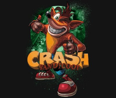 Enjoystick Crash Bandicoot - Thumbs up