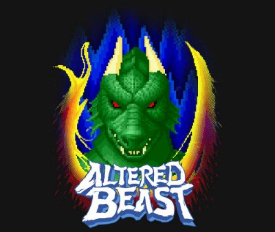 Enjoystick Altered Beast Transformations - Dragon