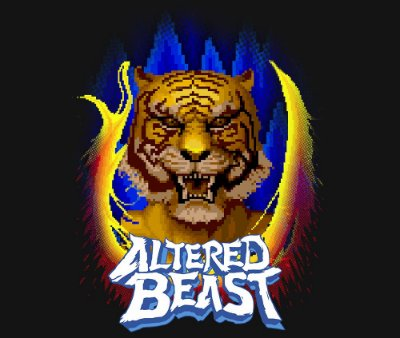 Enjoystick Altered Beast Transformations - Tiger