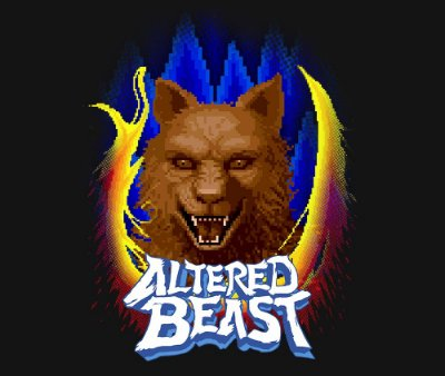 Enjoystick Altered Beast Transformations - Wolf