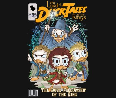 Enjoystick Lord of the Ducktales