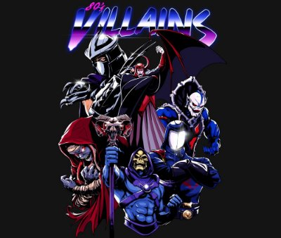 Enjoystick 80's Villains - Special Edition