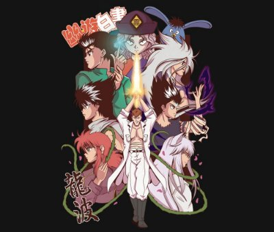 Enjoystick Yu Yu Hakusho Lovers