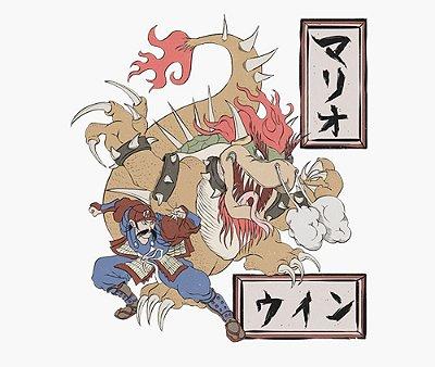 Enjoystick Mario Oriental Style