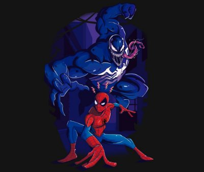 Enjoystick Spiderman & Venom