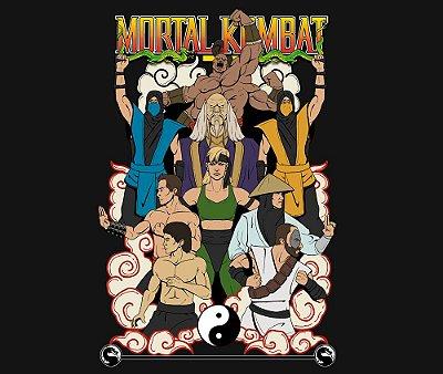 Enjoystick Mortal Kombat 1 - Old School