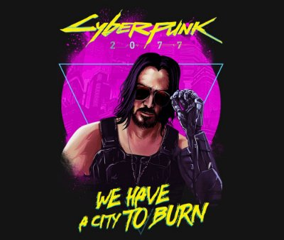 Enjoystick Cyberpunk 2077 - City to Burn