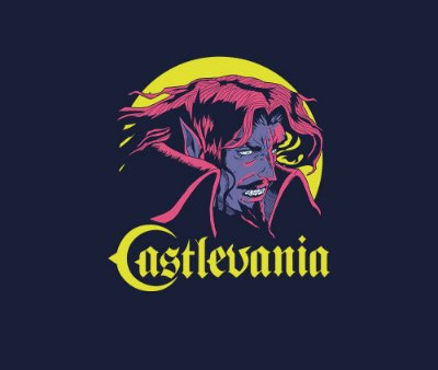 Enjoystick Catlevania - Dracula Face