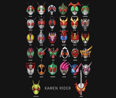 Enjoystick Kamen Rider Helmets