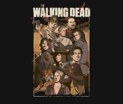 Enjoystick The Walking Dead Epic Composition