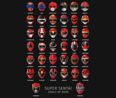 Enjoystick Super Sentai Souls of Red