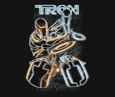 Enjoystick Tron Composition