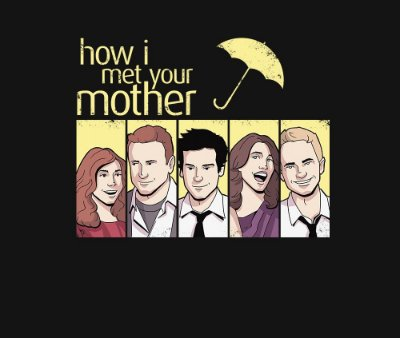 Enjoystick How I Met Your Mother Art Composition