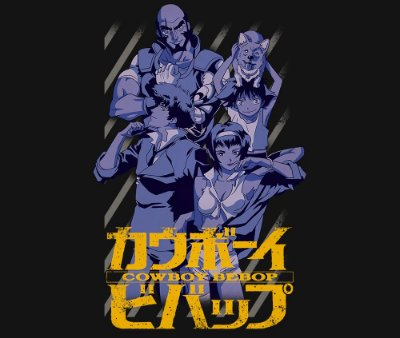 Enjoystick Cowboy Bebop Vertical Composition