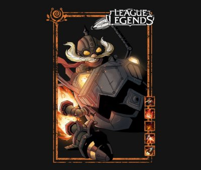 Enjoystick League of Legends - Corki