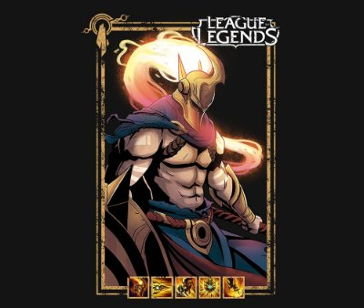 Enjoystick League of Legends - Pantheon