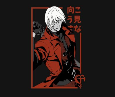 Enjoystick Devil May Cry - Dante
