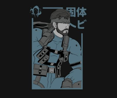 Enjoystick Metal Gear - Snake