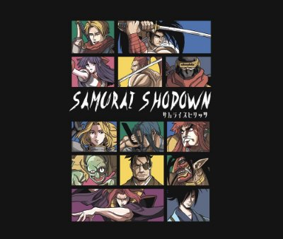 Enjoystick Samurai Shodown - Characters