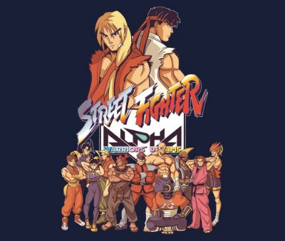 Enjoystick Street Fighter Alpha