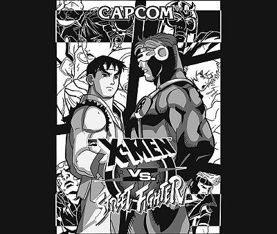 Enjoystick X-men VS Street Fighter