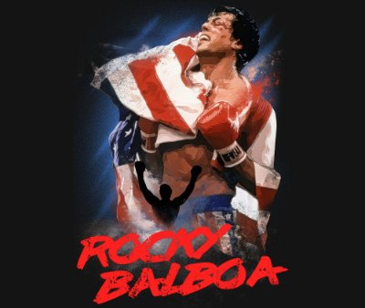 Enjoystick Rocky Balboa and Flag