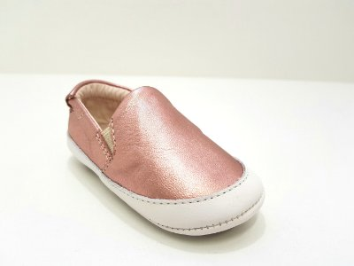 Slip on Rosa Metalizado Maria Caramelo