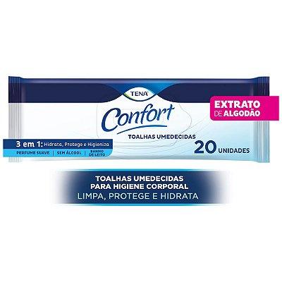 TOALHAS UMEDECIDAS TENA CONFORT