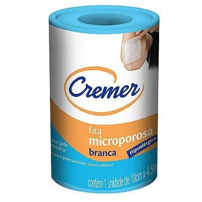 Fita Microporosa Cremer 10cm X 4,5m
