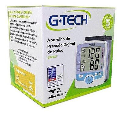 Aparelho de Pressão Digital de Pulso G-Tech GP300