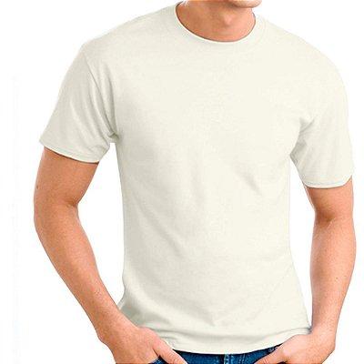Camiseta 100% Algodão Penteado Off