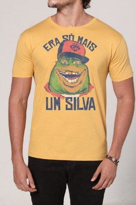 Camiseta Masculina Rap do Silva Sauro