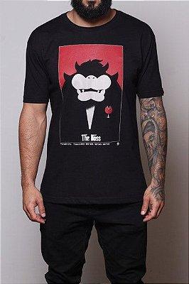 Camiseta Masculina Koopa, The Boss