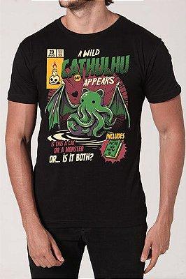 Camiseta Masculina Cathulhu