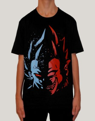 Camiseta Masculina Dragon Ball Vegeta