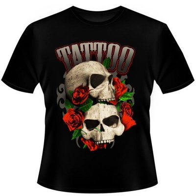 Camiseta Skull Tattoo