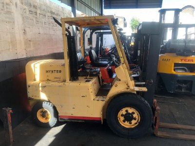 Hyster h55n diesel torre triplex
