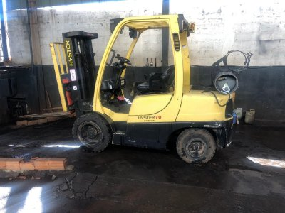 HYSTER H70FT ANO 2006