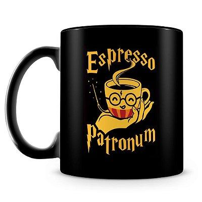 Caneca Personalizada Espresso Patronum (100% Preta)