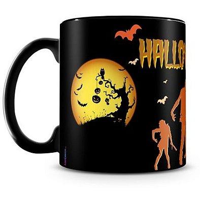 Caneca Personalizada Halloween Dia das Bruxas (Mod.3)