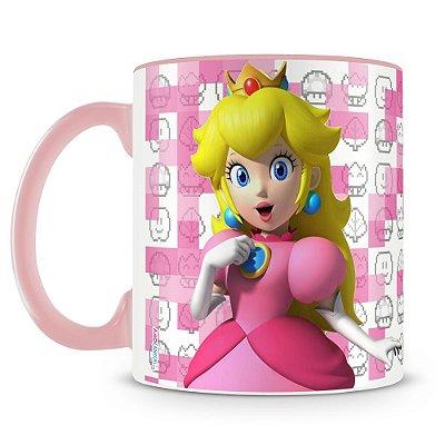 Caneca Personalizada Super Mario (Peach)