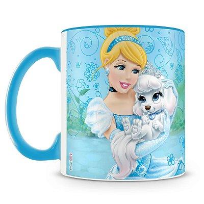 Caneca Personalizada Princesas & Pets (Cinderela)
