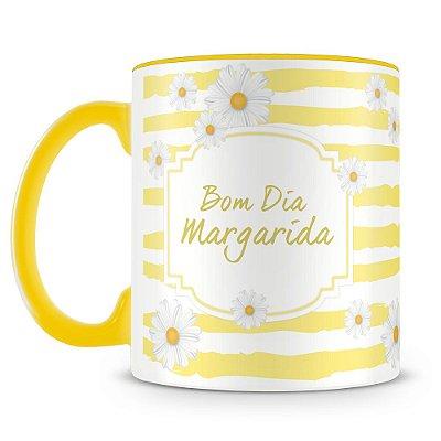 Caneca Personalizada Bom Dia Margarida