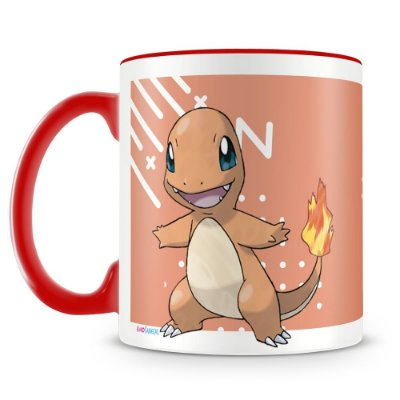 Caneca Personalizada Pokémon Charmander (Mod.2)